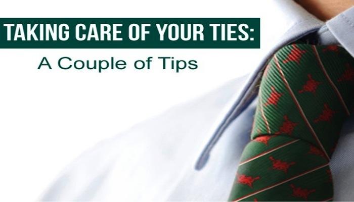 take care of the ties