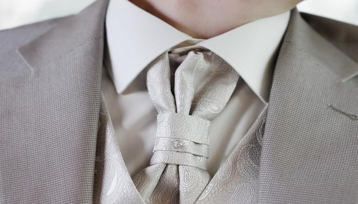 a silk cravat