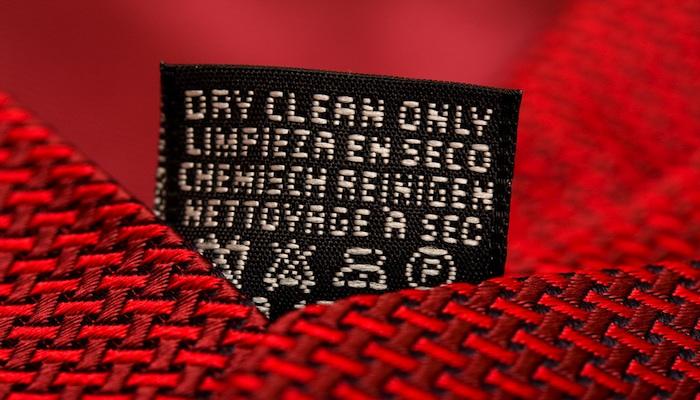 dry clean tie