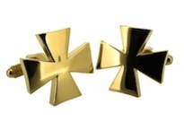 Gold Plates Cross