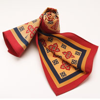 Example ladies custom scarf and scarves 9 - James Morton Ties