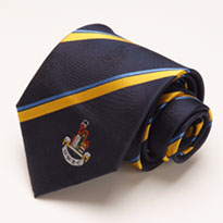 club ties designed and manufactured in the UK
