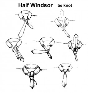 The importance of a half-windsor knot