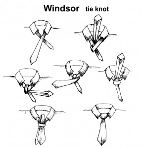 The largest knot of all - the windsor knot