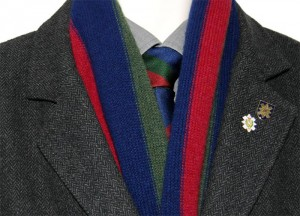 Regimental ties by James Morton who wish to support our military veterans