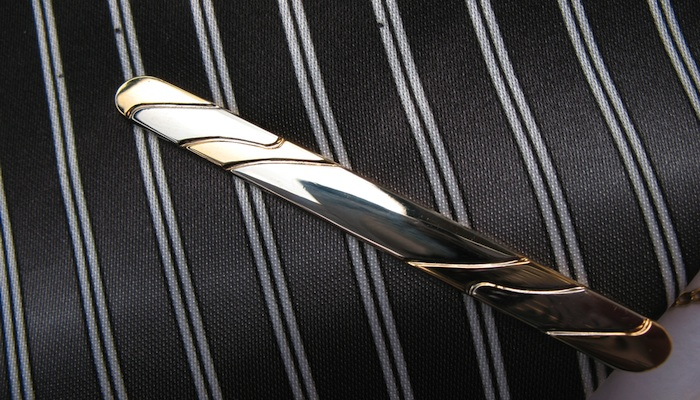 Get a tie bar to smarten up your ties