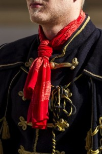Ties first appeared in Croatia as cravats in the 1700