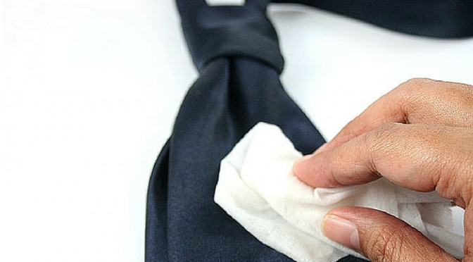 How to Clean Silk Ties