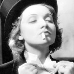 Androgynous style of Marlene Dietrich