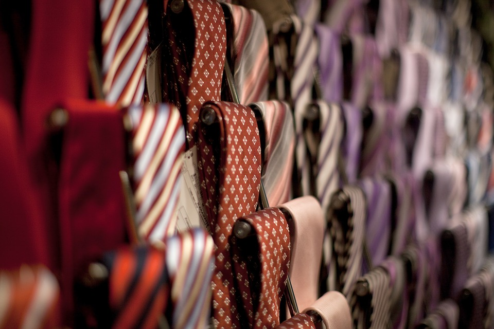 Cleaning your ties