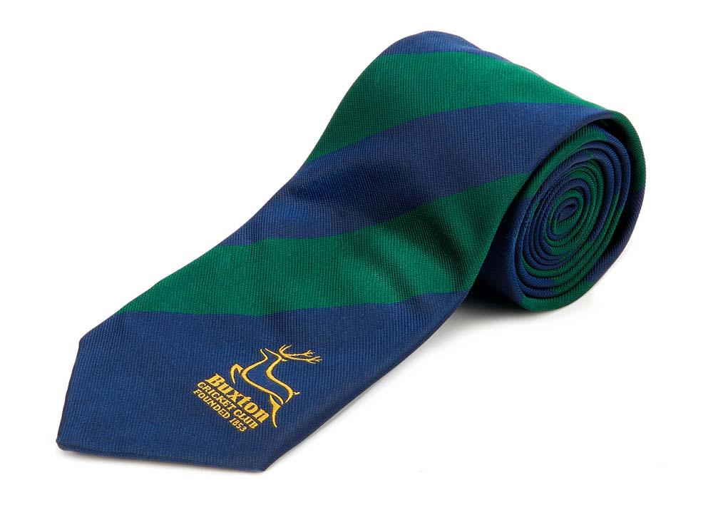 Buxton Cricket Club Tie