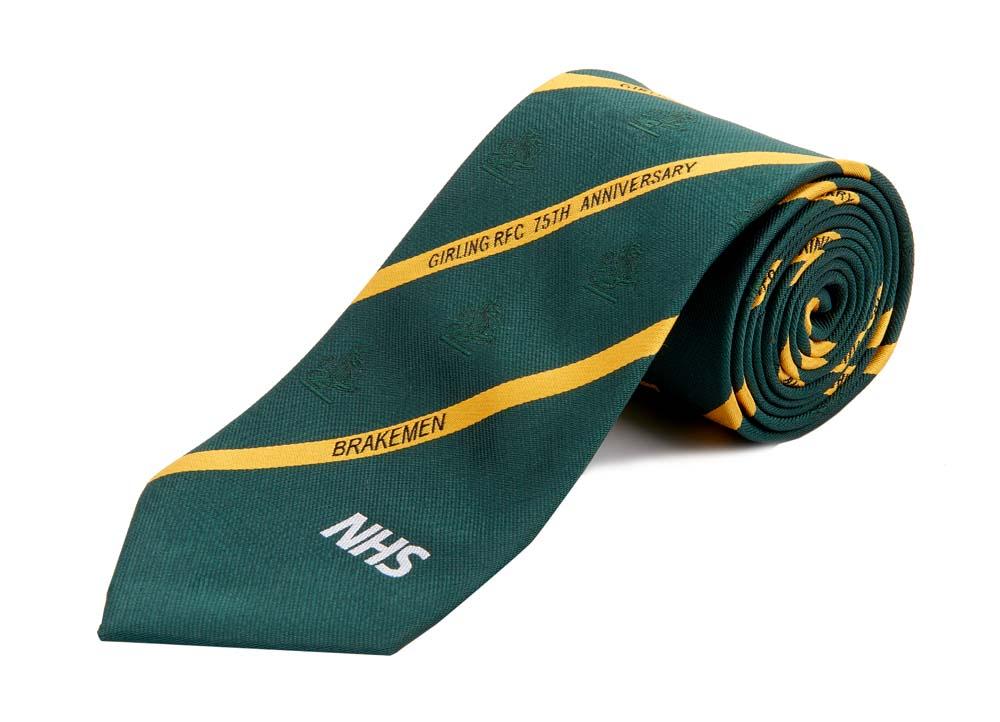 Girling RFC 75th Anniversary Tie