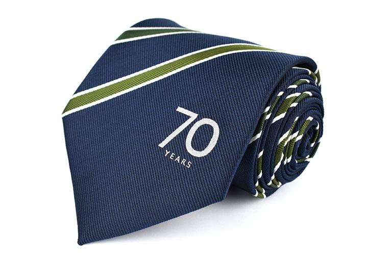 Bailey's Caravans Corporate Tie.