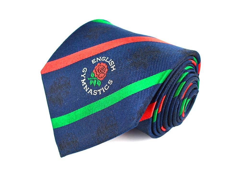 English Gymnastics Club Tie