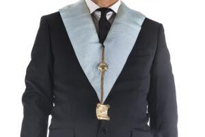 Freemason tie and regalia