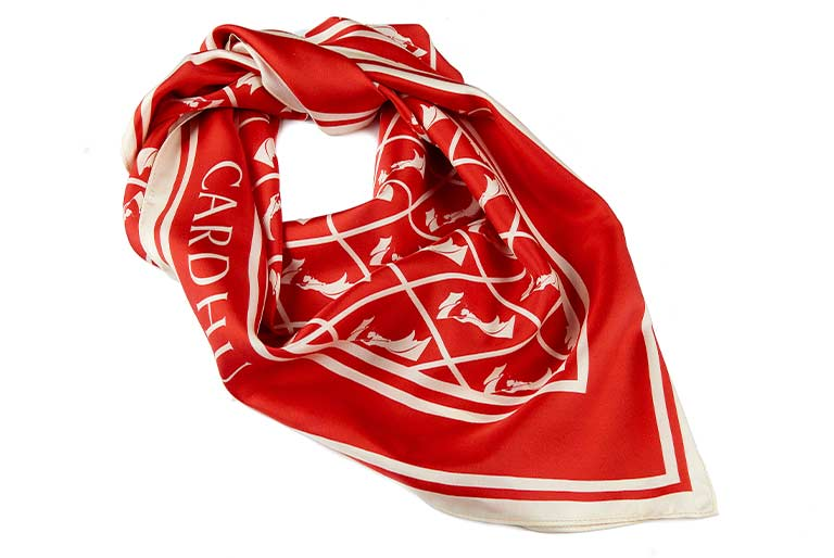 Cardhu Distillery Promotional Scarves in collaboration with agency Pencil and Paper